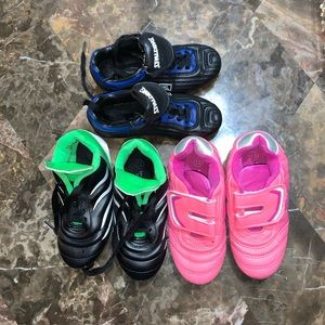 Other - Athletic Works and Spalding Soccer Shoes